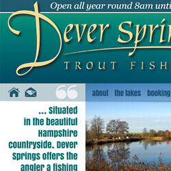 Dever Springs website